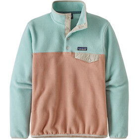 Patagonia Lightweight Synchilla Snap-T Pullover Mujer, scotch pink